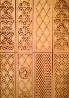 Screen Design, Door Design, Wall Design, Japan Design, Thai Pattern, Wooden Pattern, 3d Cnc, Japanese Woodworking, 3d Laser
