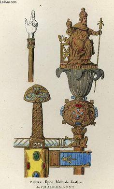 3 sceptre main épée