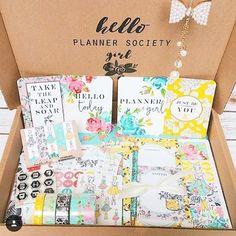 Lista para empezar a jugar con mi kit de @theplannersociety! {: @sweet_caress} #tpskit #plannergirl