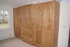 Natural oak designer bedroom furniture Picture