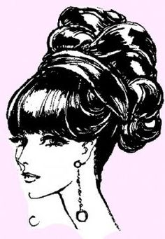 The up do from the 60's