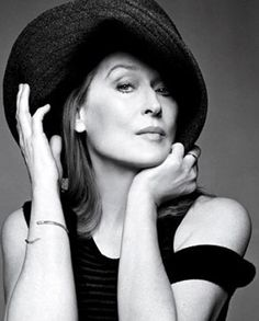 meryl streep.  Use props for head shots to add personality.  Find head shot inspirations at Monica Hahn Photography