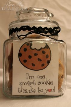 Students = some smart cookies thanks to their teachers :)