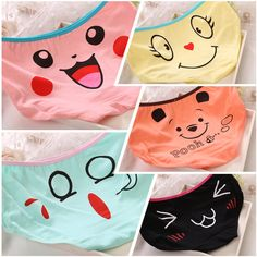 Find More Briefs Information about New hot  sexy  Cartoon  womens cotton briefs underwear seamless ladies underpants  women panties for girls/lady/female,High Quality pantie liner,China underwear picture Suppliers, Cheap panties blue from Playful beauty department store on Aliexpress.com