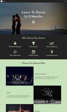 Mobirise AMP Page Creator | AMP HTML Dance School Site Template Live Demo: https://mobirise.com/extensions/lightamp/demo-page2.html