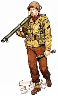 U.S. Rangers Corporal - Anzio 1944, pin by Paolo Marzioli