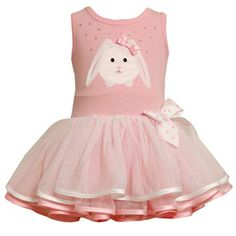 Bonnie Jean Pink Bunny Tutu Dress.  Check out more: http://stuffmomsandkidslikebest.blogspot.com/