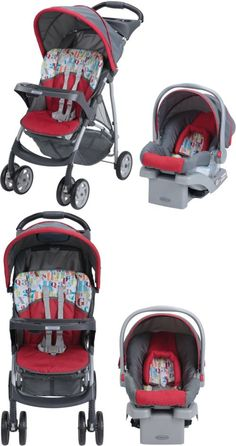 Baby: Graco Baby Stroller Car Seat 3In1 Travel System Infant Carriage Buggy Bassinet BUY IT NOW ONLY: $130.99