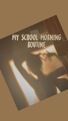 School Routine For Teens, Morning Routine School, School Routines, School Schedule, Night Routine, High School Life, Life Hacks For School, School Study Tips, I School