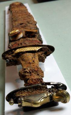 Merovingian ring pommel spatha. St Dizier, France.