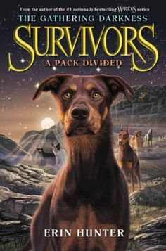 Survivors: A Pack Divided by Erin Hunter (10/13/15): The first book in an epic new adventure for the Survivors dogs! For the first time Storm can remember, she has a place in a Pack, and the world that was devastated by the Big Growl is finally at peace. But tensions are rising among the dogs...