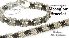 """This video tutorial from The Potomac Bead Company teaches you how to make Allie Buchman's """"Moonglow Bracelet"""" beadweaving design. Find a complete list of sup..."""