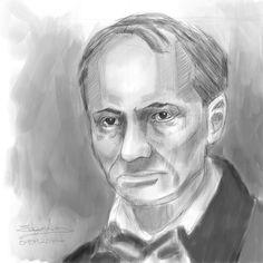 Charles Pierre Baudelaire. 08092016.