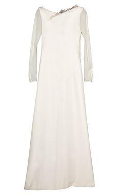 Shopping novias vestido arquitectonico y barroco: vestido de Manuel de Vivar