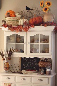 shabby chic fall decorations   Shabby chic Fall