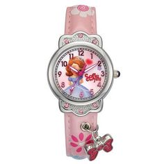 Animation Hello Kitty Magnifier Clock Wrist Hello Kitty Pink Gemstone With Diamonds Watches Children Electronic Watch Cosplay Novelty & Special Use
