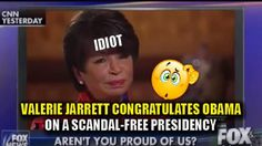Valerie Jarrett Congratulates Obama on a Scandal Free Eight Years