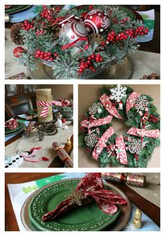 Easy #Christmas #decor and #tablescape ideas. Family friendly tips to make your home merry and inviting for the holidays.