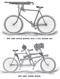 Army Bikes 1896