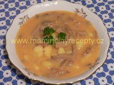 CZECH - Hlívová polievočka Zuzany Kocúrikovej Soup Recipes, Recipies, Stew, Mashed Potatoes, Chowders, Ethnic Recipes, Soups, Food, Recipes