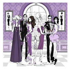 Megan Hess Fashion illustrations