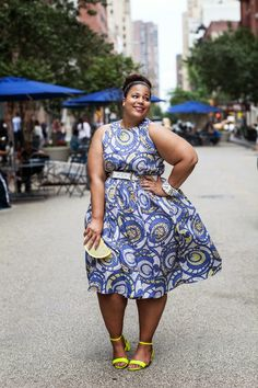 Swooning in NYC - African Print