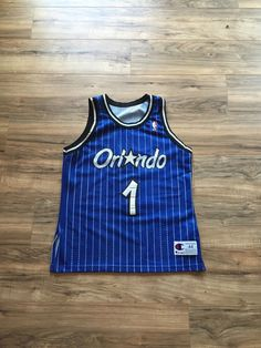 Penny Hardaway Orlando Magic Authentic Champion Jersey #NBA Size 44 Large from $174.99