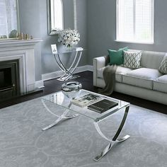 Buy John Lewis & Partners Vienna Coffee Table from our Coffee Tables range at John Lewis & Partners. Glam Living Room, Living Room White, New Living Room, Living Room Decor, Living Room Color Schemes, Living Room Colors, Living Room Designs, White Lounge, Flat Interior