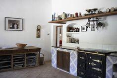 Mediterranean Kitchen - THE STOVE!!