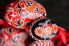 czech folk art egg - Google Search