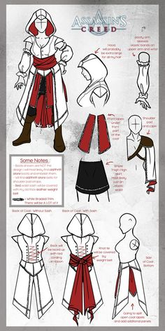 Assassin's Creed Cosplay [ Update ] by Arofexdracona on deviantART Assasin Creed. - Assassin's Creed Cosplay [ Update ] by Arofexdracona on deviantART Assasin Creed… - Cosplay Anime, Cosplay Tobi, Cosplay Diy, Cosplay Outfits, Halloween Cosplay, Best Cosplay, Female Cosplay, Halloween Ideas, Assassins Creed Cosplay
