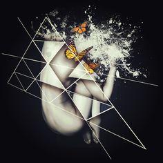 Mariposa by Helena Pinillos, via Behance