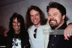 News Photo : Alice Cooper, Ted Nugent and Bob Seger Smiling Bob Seger, Alice Cooper, Rock And Roll History, Memphis May Fire, Austin Carlile, Chris Tomlin, Mikey Way, Mayday Parade, Country Music Singers