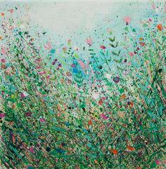 """Saatchi Online Artist Sandy Dooley; Painting, """"Field II  (sold)"""" #art"""
