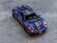 Lego Racers, Lego Speed Champions, Minecraft Creations, Lego Models, Lego Moc, Motor Car, Legos, Awesome Stuff, Gundam