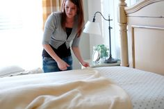 Home by Heidi: How to make a bed properly!