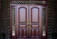 Double Entry Doors Sidelights And Transom from Emerald Doors. Big collection of Entry Door from usa. Also deals in Manufacturer of Double Entry Doors Sidelights And Transom Door Design Photos, Home Door Design, Main Door Design, Front Door Design, Gate Design, House Design, Entry Door With Sidelights, Wood Entry Doors, Wooden Doors
