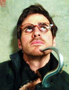 He... wears... GLASSES?! The people creator knew who I needed. Once Upon a Time