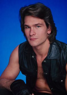 Patrick Swayze  You're not a real man until you can pull off some shirtless vest-wearing, like our friend Patrick here.