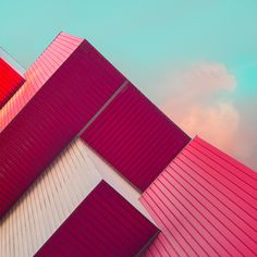 "Photographer Øystein Sture Aspelund explores geometry and color in these captures of interesting building details for his ""Cyan"" series.    More photography inspiration via Behance"