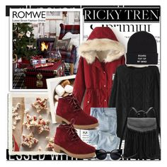 """Romwe 5"" by emina-turic ❤ liked on Polyvore featuring Anja, Wrap, Vans, women's clothing, women's fashion, women, female, woman, misses and juniors"