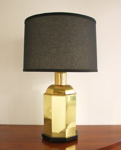 Thinking about a lamp like this for the front living room. Wonder if I could find a similar one at Goodwill and shine it up with Brasso? #definitelyobviously