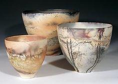 Medium Eggshell Bowl: Judith E. Motzkin: Ceramic Bowl - Artful Home