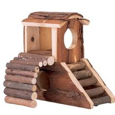 Buy Vitakraft For You Natural Wooden Small Animal House at Guaranteed Cheapest Prices with Express & Free Delivery available now at PetPlanet.co.uk, the UK's #1 Online Pet Shop.