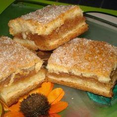Eu am inceput cu merele. Le-am curatat si le-am dat pe razatoare, le-am scurs de zeama si le-am pus la calit impreuna cu zahar si scortisoara. Le-am Sweets Recipes, Healthy Desserts, Cookie Recipes, Romanian Desserts, Romanian Food, Weird Food, Thanksgiving Recipes, Cupcake Cakes, Deserts