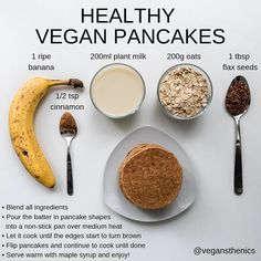Start the day right with these vegetable packed high protein Vegan Egg Muffins! An easy make ahead breakfast option made with wholesome ingredients. Vegan Foods, Vegan Dishes, Vegan Desserts, Vegan Food List, Vegan Breakfast Recipes, Vegan Recipes, Cooking Recipes, Oats Recipes, Free Recipes