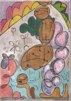 Gerald Shepherd: Young Girl In A Garden 1