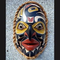 Raven and Hawk Clan Marriage Mask