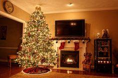christmas, christmas decor, christmas decorations, christmas lights, christmas stockings