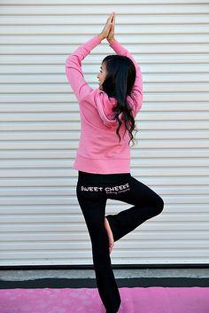 SWEET CHEEKS Yoga Pants